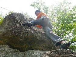 湯河原・幕岩クライミング行ってきました!