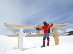 今年も積雪期の富士山登りました♪