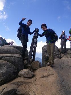 兄弟で瑞牆山(みずがきやま)登山!