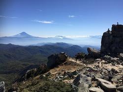 大弛峠からの金峰山登山