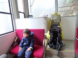 筑波山の御幸ヶ原コースをにわか雨の中登ってきました
