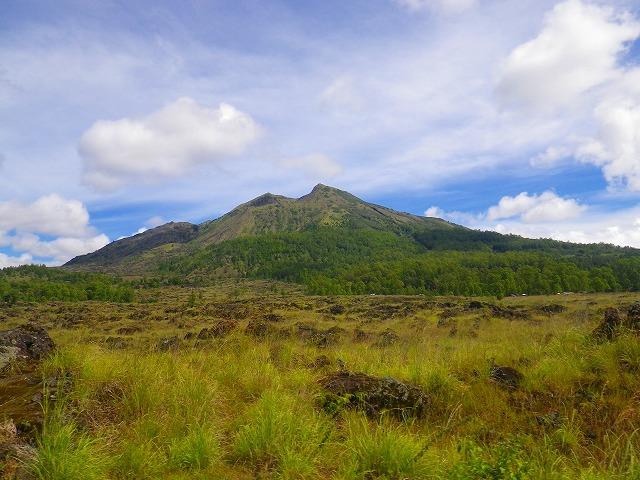 バリ島のバトゥール山