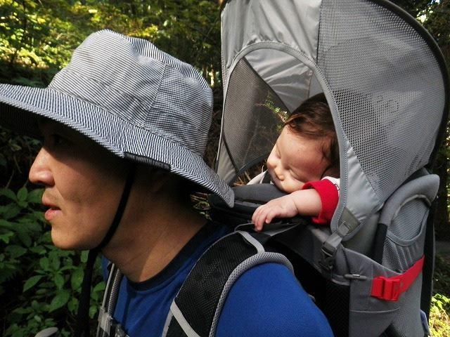 赤ちゃんと御岳山登山♪ベビーキャリアでデビュー!