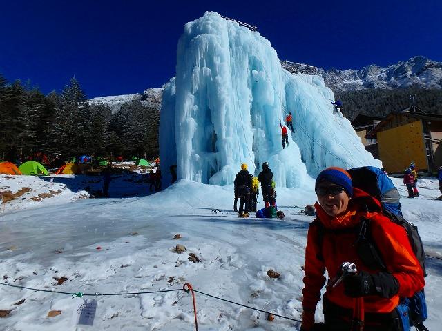 兄と1月に硫黄岳登山。予想以上に雪少なく暖冬の影響に驚く