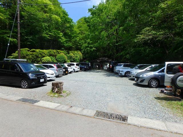 金時神社 駐車場