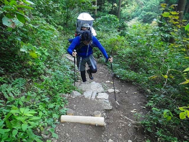 御岳山(東京都) 七代の滝 往復コース