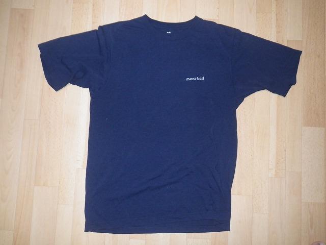 ★montbell ウィックロン Tシャツ ワンポイントロゴ Men's