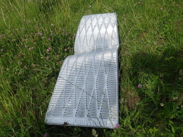 サーマレスト リッジレスト ソーライト(thermarest ridgerest solite sleeping pad)