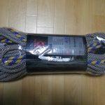 マムート・インフィニティ クライミングロープ購入レポ