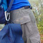 登山中に何度も着脱するハットの持ち運び方を考える