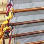 エイト環を使った正しい懸垂下降の手順