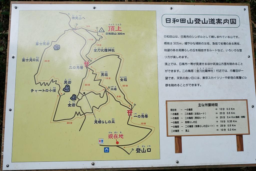 日和田山(埼玉県日高市)