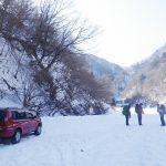 芦安の上荒井沢トリコルネのアイスクライミング情報(地図・マップなど)