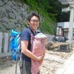 筑波山神社で夏越の大祓-茅の輪くぐり