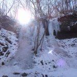 2月上旬、西上州の霧積温泉周辺のアイスクライミング。駐車場、アクセス情報、写真あり